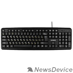 Клавиатуры, мыши Гарнизон Клавиатура GK-100, USB, черный