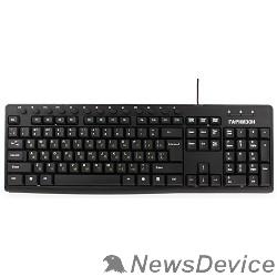 Клавиатуры, мыши Гарнизон Клавиатура GKM-125, USB, черный, 13 доп. клавиш
