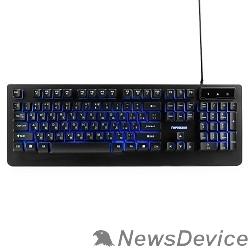"""Клавиатуры, мыши Гарнизон Клавиатура игровая GK-310G черный USB, металл, синяя подсветка, код """"Survarium"""", антифант"""