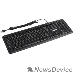 Клавиатуры Exegate EX263906RUS Клавиатура Exegate LY-331L, <USB, шнур 2м, черная,  104кл, Enter большой>, Color box