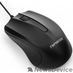 Клавиатуры, мыши Гарнизон Мышь GM-105, USB, чип- Х, черный, 800 DPI, 2кн.+колесо-кнопка