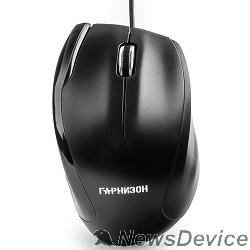 Клавиатуры, мыши Гарнизон Мышь GM-205, USB, чип- Х, черный, 1000 DPI, 2кн.+колесо-кнопка
