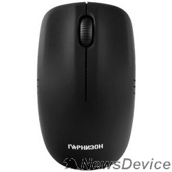 Клавиатуры, мыши Гарнизон Мышь беспров. GMW-400 (GM-400), чип X, черный, 1200 DPI, 2 кн.+ колесо-кнопка