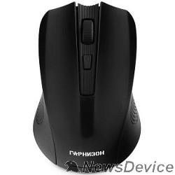 Клавиатуры, мыши Гарнизон Мышь беспров. GMW-405, чип X2, черный, 1600 DPI, 3 кн.+ колесо-кнопка