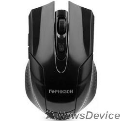 Клавиатуры, мыши Гарнизон Мышь беспров. GMW-410, чип X2, черный, 1600 DPI, 5 кн.+ колесо-кнопка