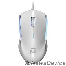 Мышь Oklick 245M белый оптическая (1000dpi) USB (3but) 471480