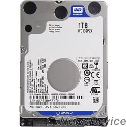 Жесткий диск 1TB WD Blue (WD10SPZX) SATA 6Gb/s, 5400 rpm, 128Mb buffer