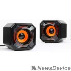 Колонки Акустич. система 2.0 Gembird SPK-405, пассив. излучатели, черный, 5 Вт, рег. громкости USB-питание