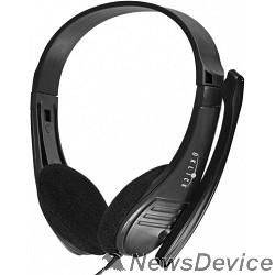 Наушники и микрофоны Oklick HS-M150 черный 2м накладные (NO-003N) 428963