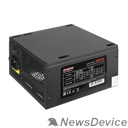 Блок питания Exegate EX260638RUS Блок питания 400W Exegate 400PPE, ATX, black, APFC, 12cm, 24p+4p, PCI-E, 3*IDE, 5*SATA, FDD