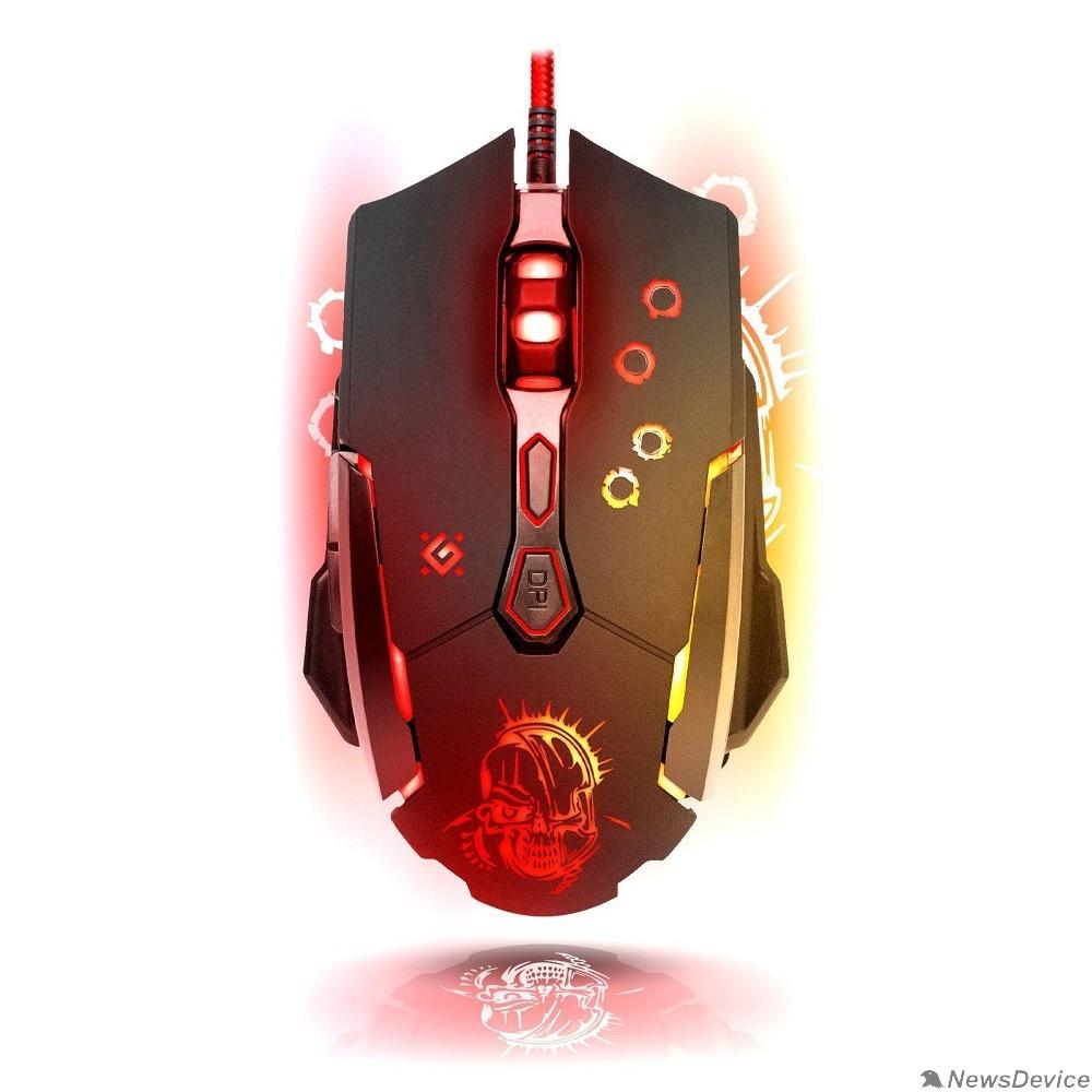 Мышь Defender Killer GM-170L 52170 Проводная игровая мышь, оптика,7кнопок,800-3200dpi