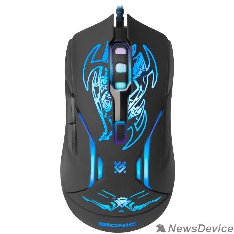 Мышь Defender Bionic GM-250L 52250 Проводная игровая мышь, оптика,6кнопок,800-3200dpi