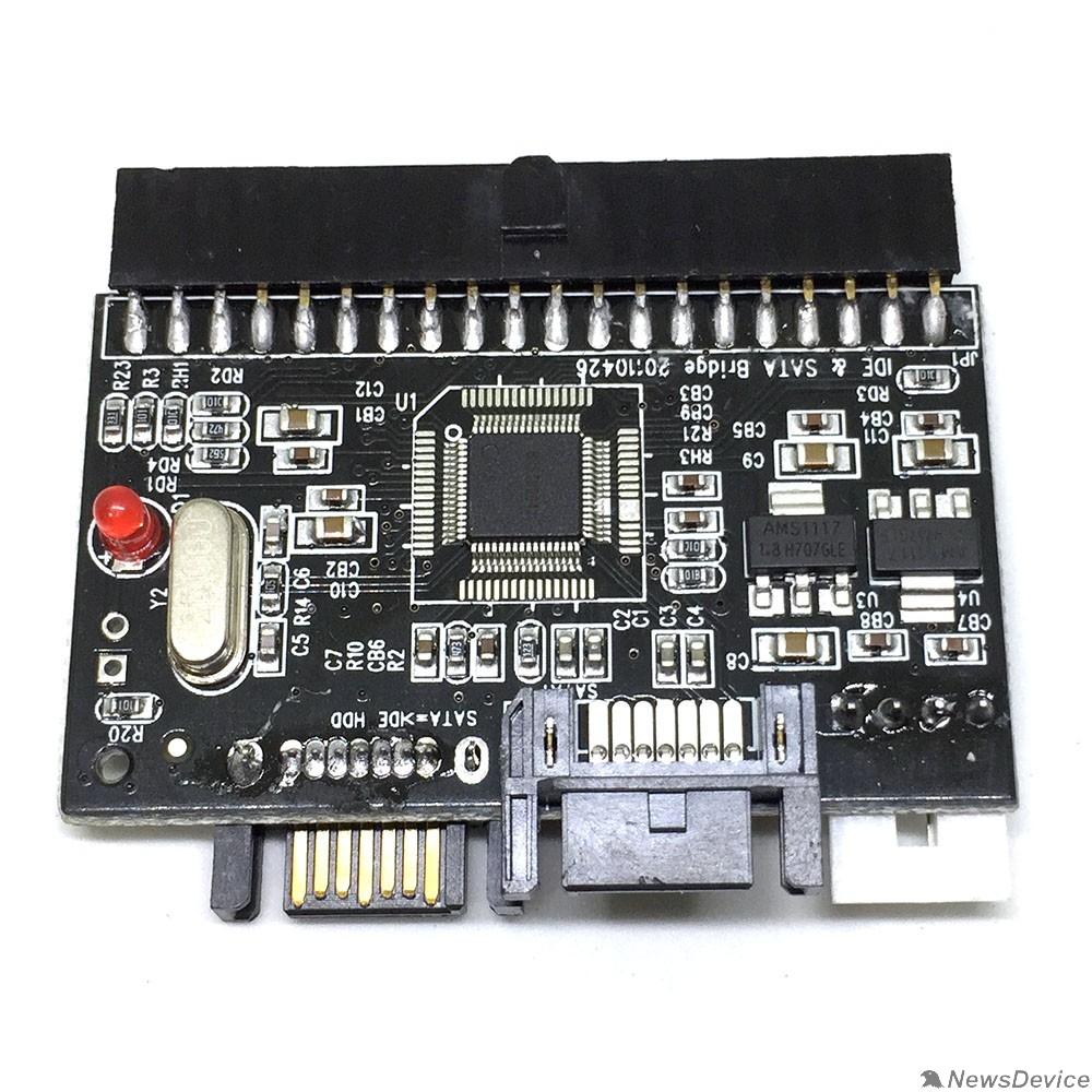 Контроллер Espada Контроллер SATA to IDE Bidirectional Converter (SIIS) (43064) - фото 520777