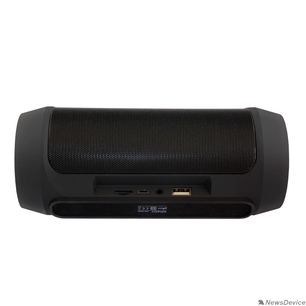 Колонки Ginzzu Ginzzu GM-994G (2х5Вт, 100Гц-18КГц, 2400мАч, Handsfree, AUX-in, TF/microSD, USB-flash, FM-radio, PowerBank