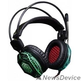Наушники и микрофоны Oklick HS-L500G черный 2.2м мониторы оголовье 472565/472656