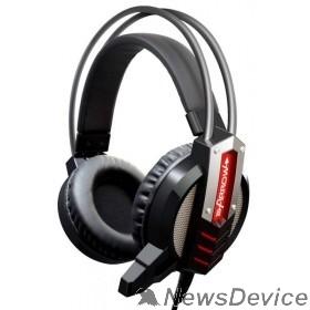 Наушники и микрофоны Oklick HS-L450G черный 2.2м мониторы оголовье 472654