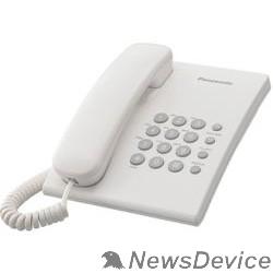 Телефон Panasonic KX-TS2350RUW (белый) повтор номера, регул-ка громкости, кр.на стену