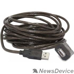 Кабель Cablexpert Кабель удлинитель USB 2.0 активный, AM/AF, 5м (UAE-01-5M)