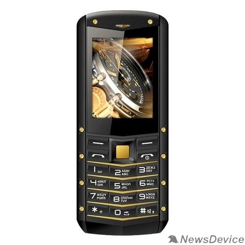 Мобильный телефон TEXET TM-520R мобильный телефон цвет черный-желтый