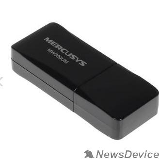 Mercusys Mercusys MW300UM Беспроводной сетевой мини USB-адаптер, скорость до 300 Мбит/с