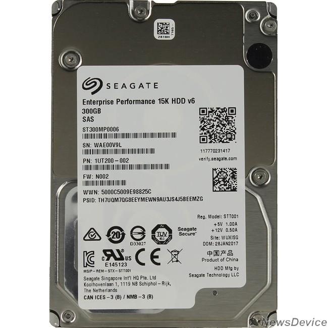"Жесткий диск 300Gb Seagate Enterprise Performance 15K (ST300MP0006) SAS 12Gb/s, 15 000 rpm, 256mb buffer, 2.5"""