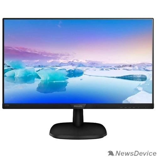 """Монитор LCD PHILIPS 23.8"""" 243V7QDAB (00/01) черный IPS 1920x1080 5ms 178/178 250cd 10M:1 D-Sub DVI HDMI 2x2W"""