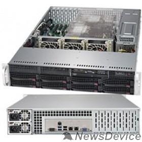 Сервер Supermicro SYS-6029P-TR, 2U/2xLGA3647/iC621/16xDDR4/8x3.5 SATA3/IPMI/VGA/2xGb/1000W 1+1
