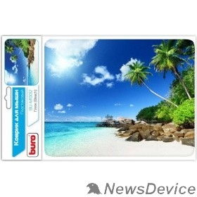 Коврики Коврик для мыши Buro BU-M10012 рисунок/пляж 291843