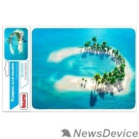 Коврики Коврик для мыши Buro BU-M10017 рисунок/остров 291842