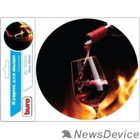 Коврики Коврик для мыши Buro BU-T60056 рисунок/вино 350572