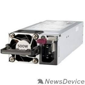 Опция к серверу HPE 500W Flex Slot Platinum Hot Plug Low Halogen Power Supply Kit (865408-B21 / 866729-001)