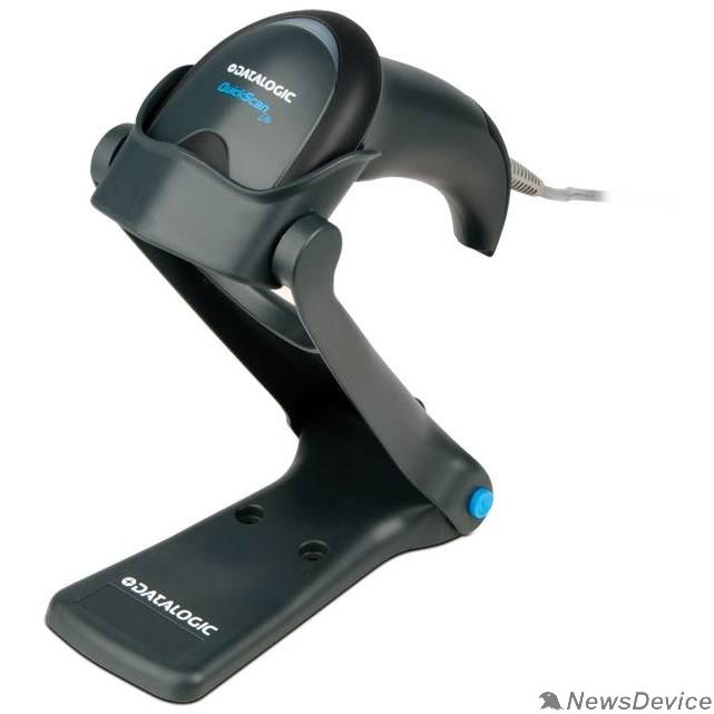 Datalogic сканеры штрих-кодов Datalogic QuickScan QW2420 QW2420-BKK1S черный Сканер штрихкодов ручной, USB 2D имидж  кабель USB, подставка