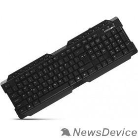 Клавиатуры, Манипуляторы Проводная клавиатура CROWN CMK-158T USB CM000001685  123 клавиш,белая кириллица, 16  мультимедийных клавиш, USB, кабель 1.8м