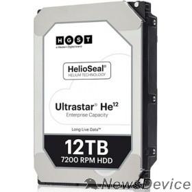 "Жесткий диск 12Tb WD Ultrastar HE12 (HUH721212AL5204) SAS 12Gb/s, 7200 rpm, 256mb buffer, 3.5"" 0F29532"