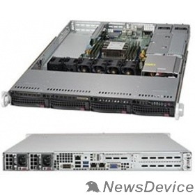 Сервер Сервер.платформа SuperMicro SYS-5019P-WTR 1U 1xS3647 TDP205W 4LFF 2x10GbE 2xFH 1xLP 2x500W