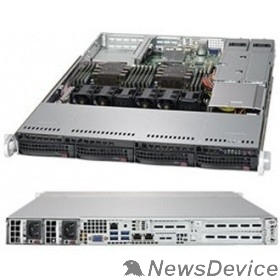 Сервер Supermicro SYS-6019P-WTR Серверная платформа 1U