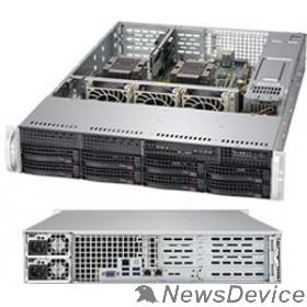 Сервер Supermicro SYS-6029P-WTR Серверная платформа 2U SATA