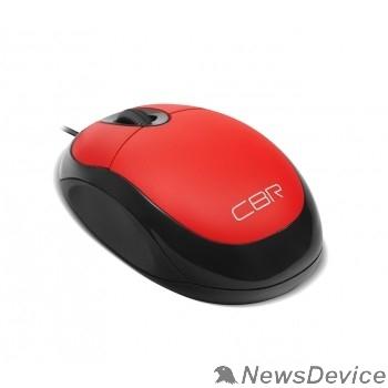 Мышь CBR CM 102 Red USB Мышь, оптика, 1200dpi, офисн., провод 1,3м