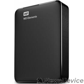 """Носитель информации WD Portable HDD 4Tb Elements Portable WDBU6Y0040BBK-WESN USB3.0, 2.5"""", black"""