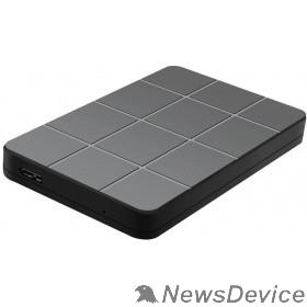 "Контейнер для HDD AgeStar 3UB2P1(6G) USB 3.0 Внешний корпус 2.5"" SATAIII HDD/SSD пластик, чёрный 06992/14661"