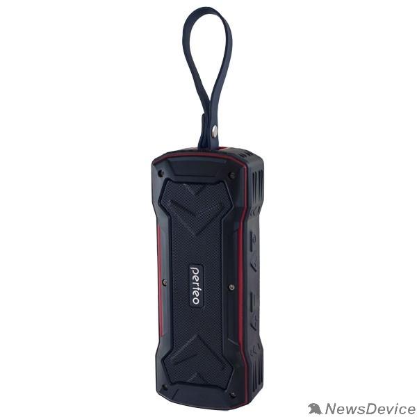 """Колонки Perfeo Bluetooth-колонка PF-BT-GRDE-BKRD """"GRANDE"""" FM, MP3 microSD, AUX, мощность 10Вт, 2000mAh, черная PF_5207"""