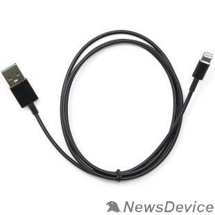 Кабель Cablexpert Кабель USB 2.0 AM/Lightning, для iPhone5/6/7/8/X, IPod, IPad, 1м, черный, пакет (CC-USB-AP2MBP)