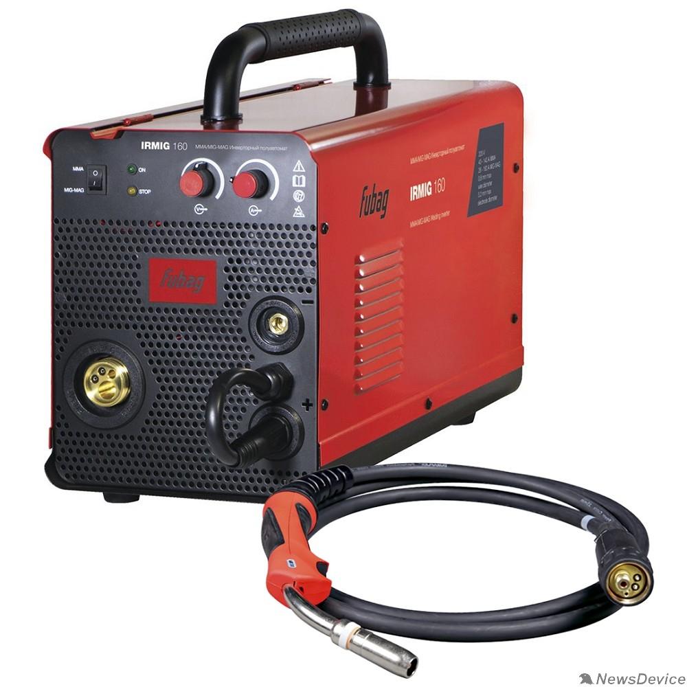 Сварочное оборудование, Инверторы FUBAG Сварочный полуавтомат_инвертор IRMIG 160 (38607) + горелка FB 150_3 м (38440) 38607.2/31431.1