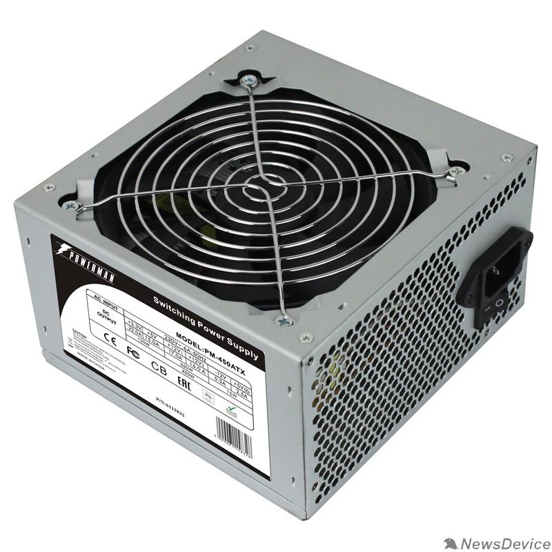 Блок питания POWERMAN  PM-450ATX for P4 450W OEM ATX 6115832