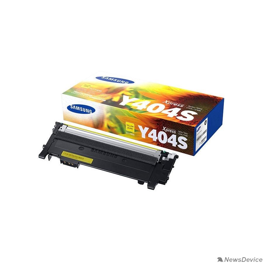 Расходные материалы Samsung CLT-Y404S Тонер Картридж желтый для Samsung SL-C430/C480 (1000стр.) (SU452A)
