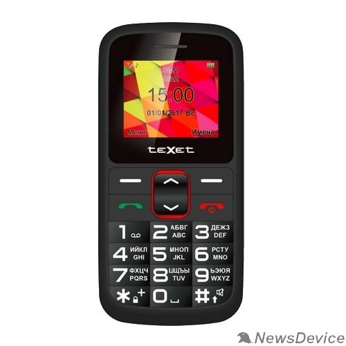 Мобильный телефон TEXET ТМ-B217 мобильный телефон цвет черный-красный