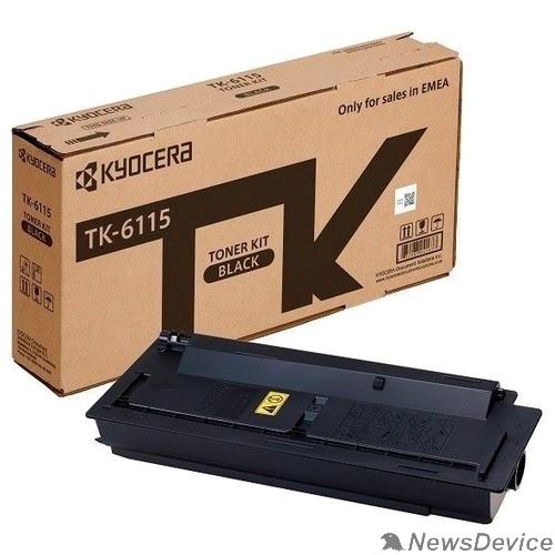 Расходные материалы Kyocera-Mita TK-6115 Картридж, Black M4125idn/M4132idn (15000 стр.)