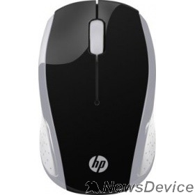 Опция для ноутбука HP 200 2HU84AA Wireless Mouse USB silver