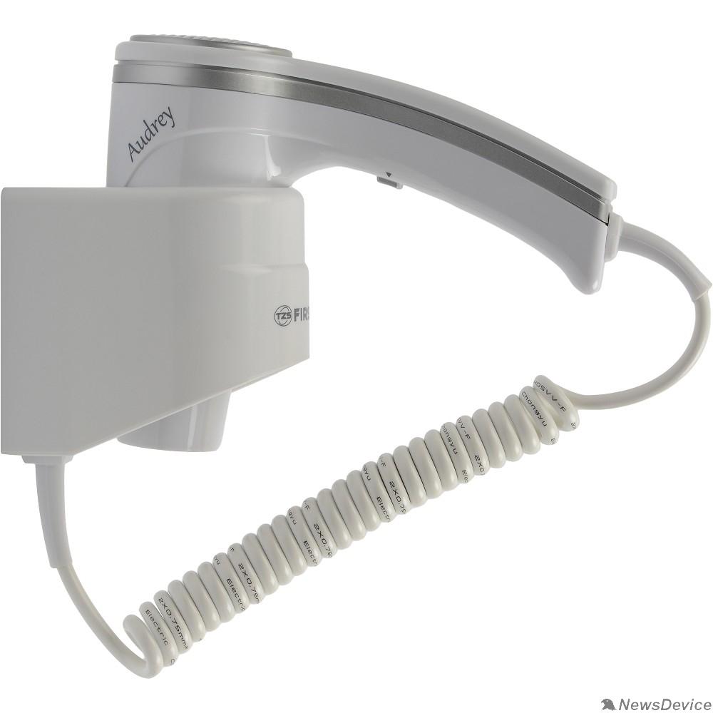 Фен FIRST FA-5655-1 Фен, 1200 Вт, шнур 2 м, крепл.на стене, 1 скор, 2 темп., холод, White