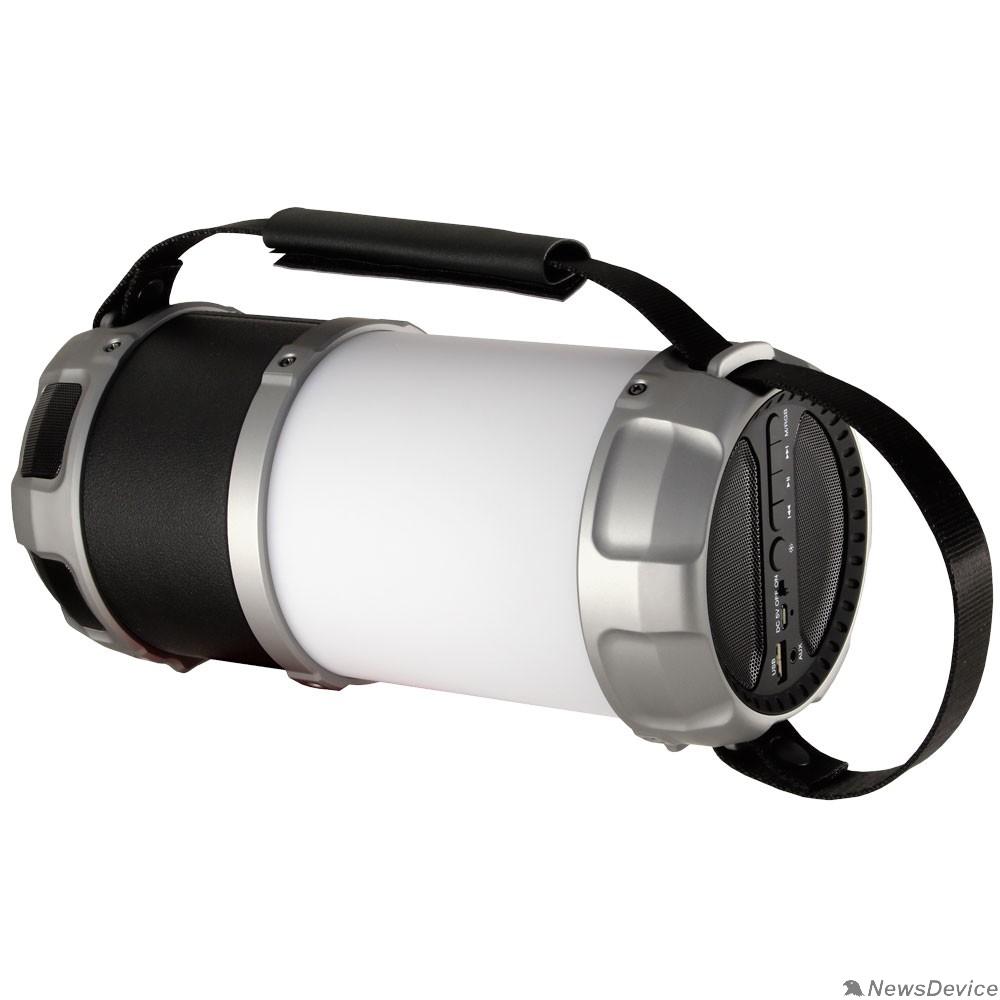 Колонки Ginzzu Ginzzu GM-889B BT-Колонка 20W/3Ah/LED/RGB/USB/AUX/FM/subwoofer